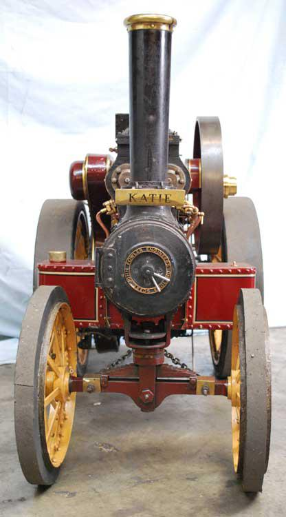 3 inch scale Fowler road locomotive