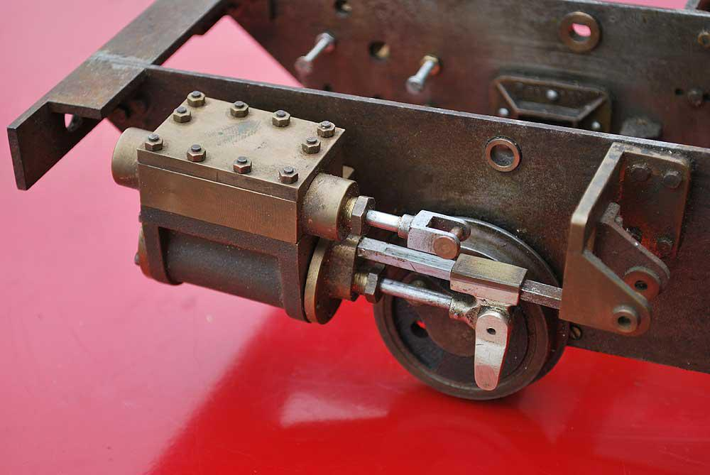 Part-built 3 1/2 inch gauge