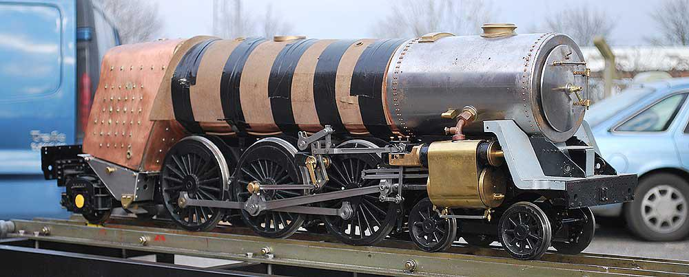 5 inch gauge ModelWorks Britannia - Stock code 4092