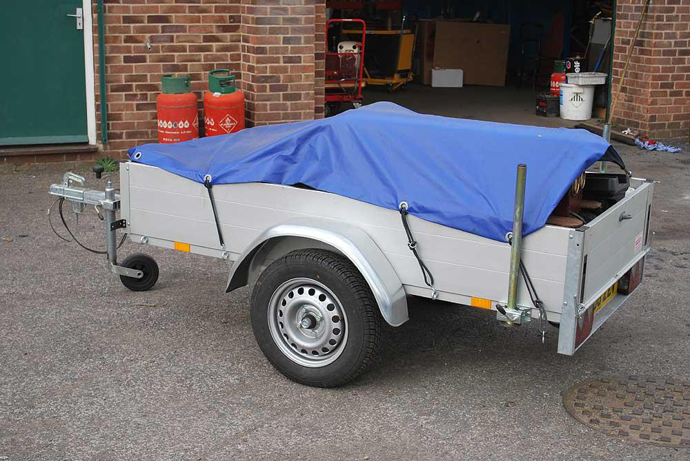 750Kg two wheel trailer