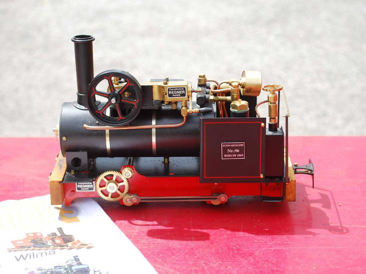 Gauge 1 Regner Vincent with track