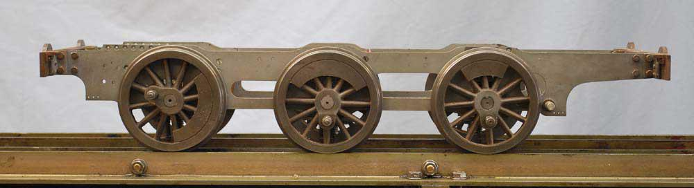 Part-built 5 inch gauge