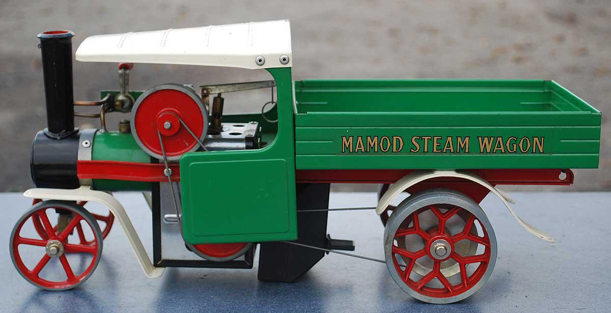 Mamod solid fuel-fired wagon