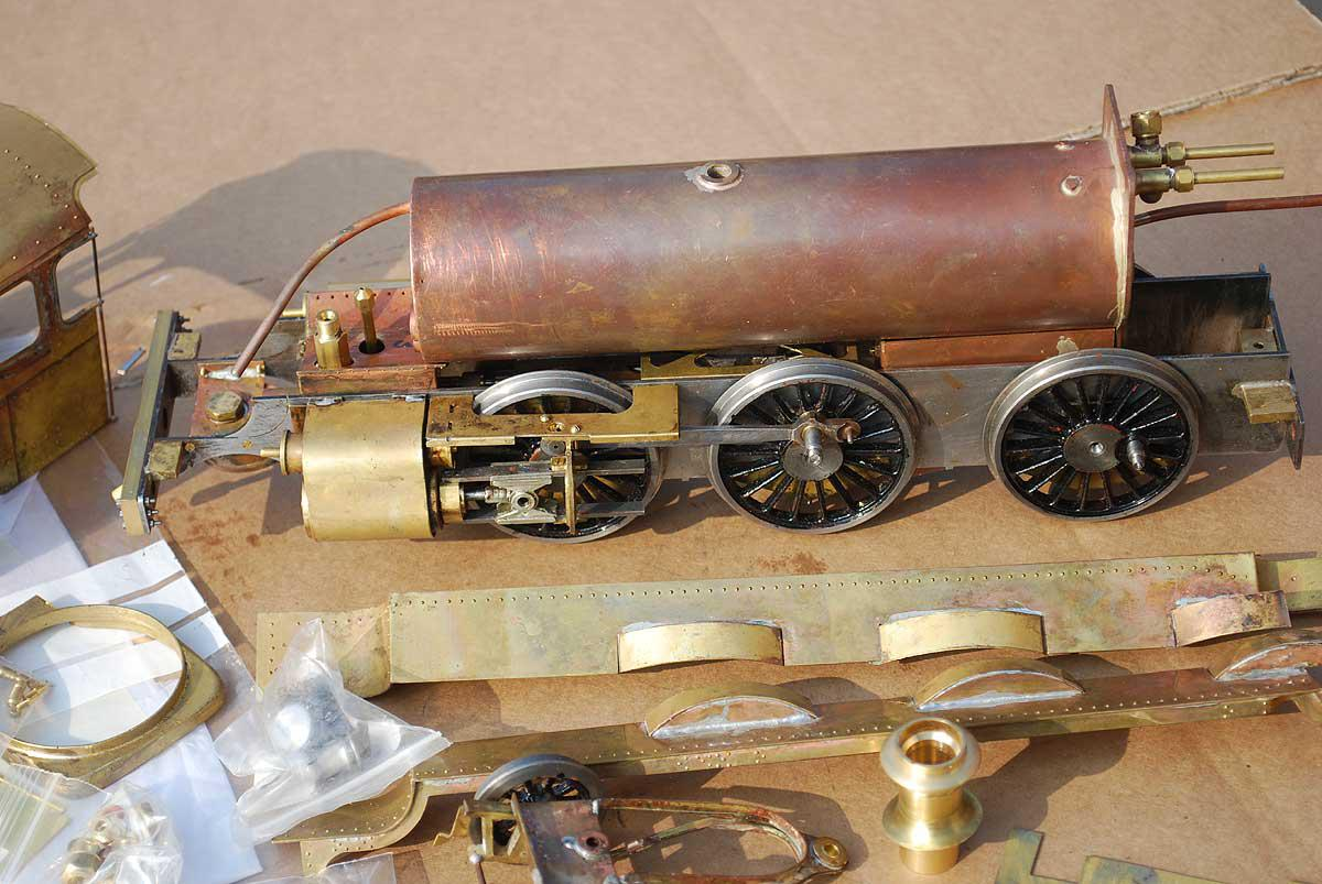 Gauge 1 part-built GWR Mogul kit