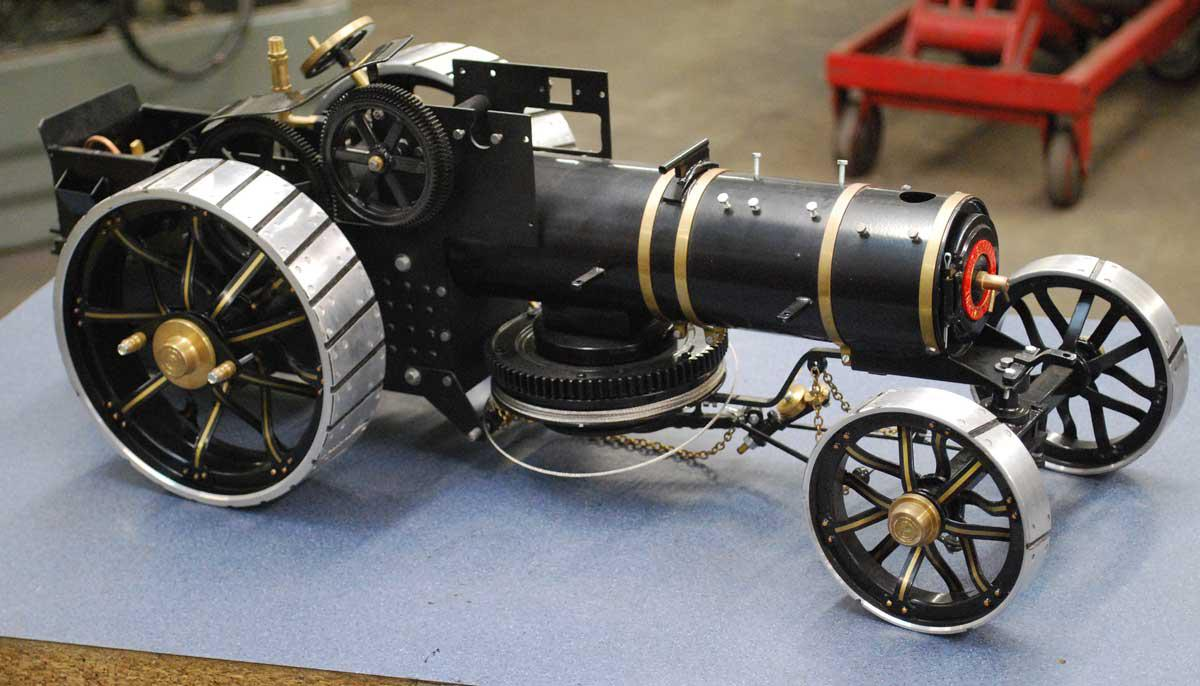 New part-assembled Markie ploughing engine