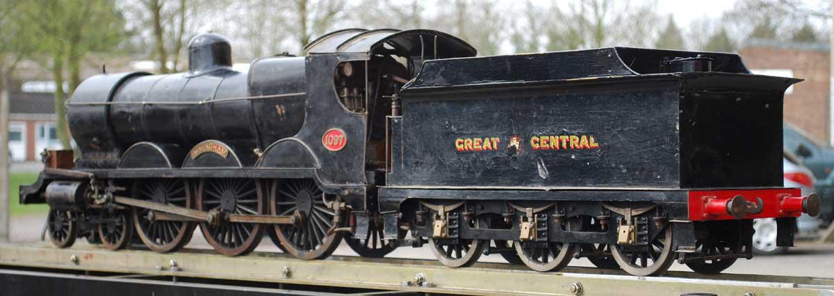 5 inch gauge Great Central 8F