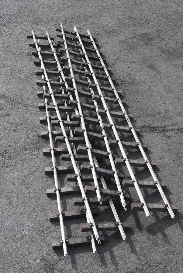 Four panels 5 inch gauge track