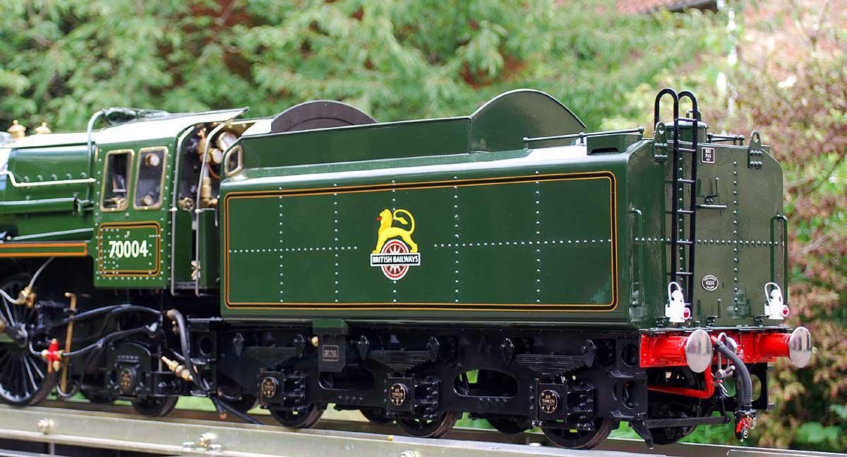 5 inch Britannia - Stock code 5156