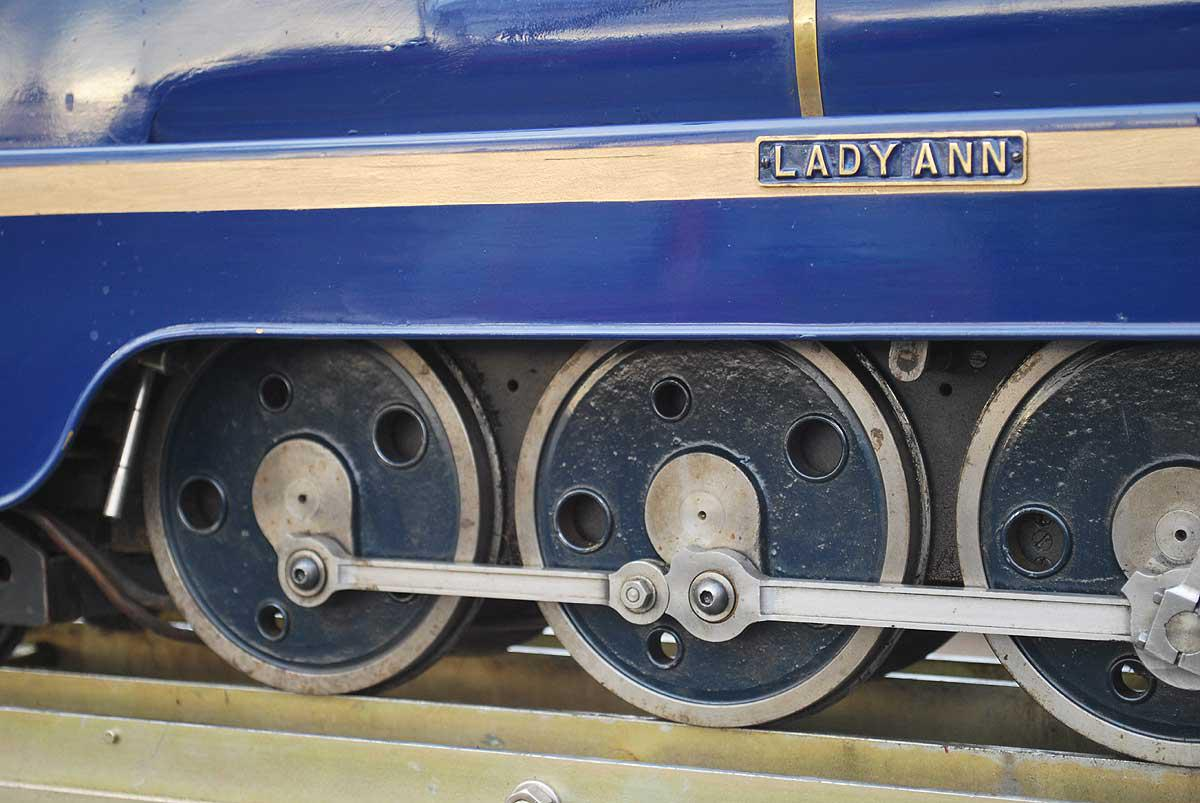 "3 1/2 inch gauge 4-8-4 ""Lady Anne"""