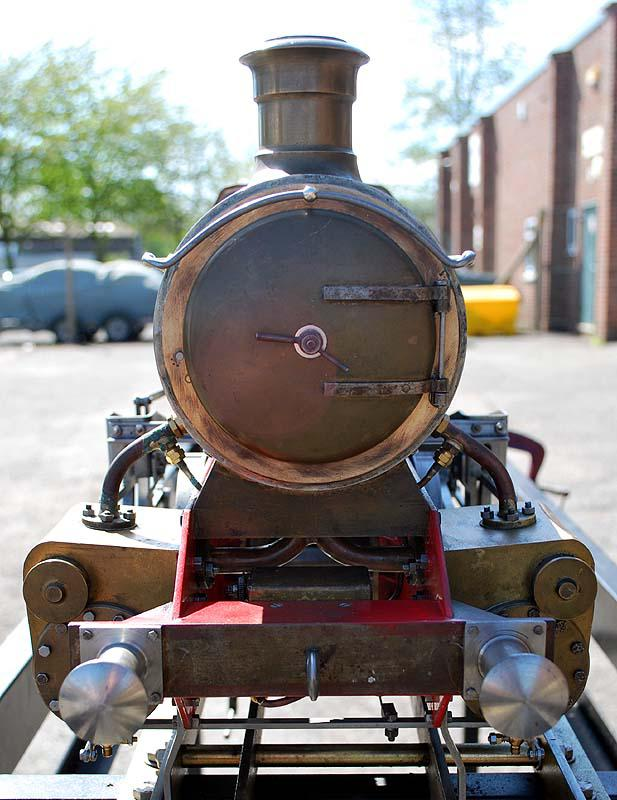 5 inch gauge part-built GWR 15xx with commercial boiler