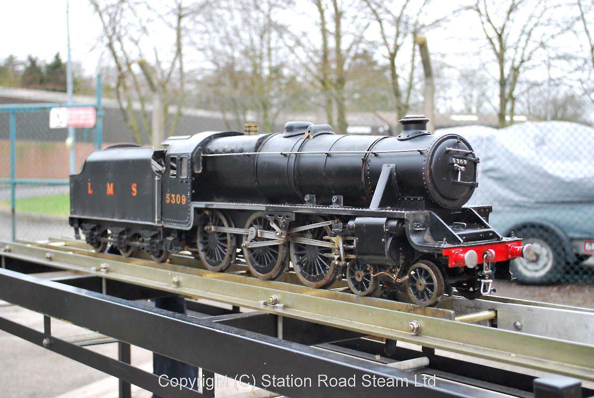 3 1/2 inch gauge LMS Black 5 - Stock code 5717