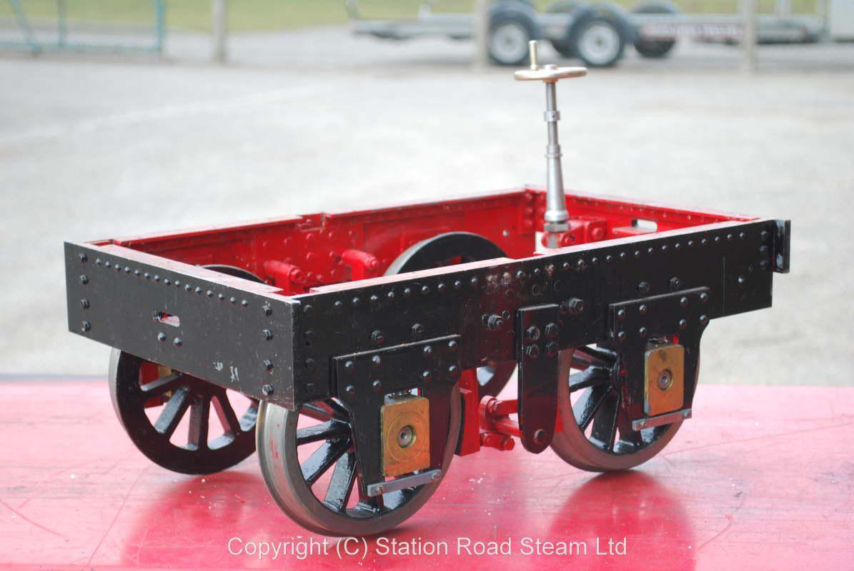 part-built 7 1/4 inch gauge
