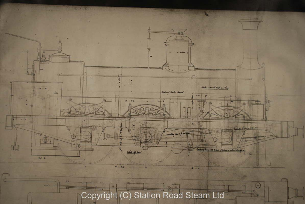 Large quantity works drawings, South African locomotives etc