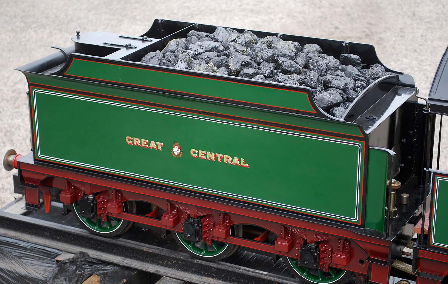 "7 1/4 inch gauge Great Central ""Director"""