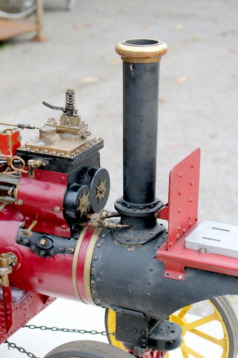 2 inch scale Fowler DCC Showmans road locomotive for restoration