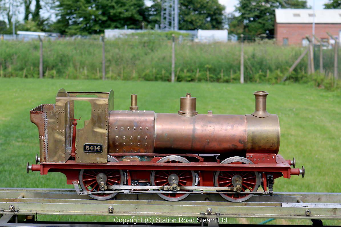 Part-built 5 inch gauge GWR 0-6-0PT with commercial boiler