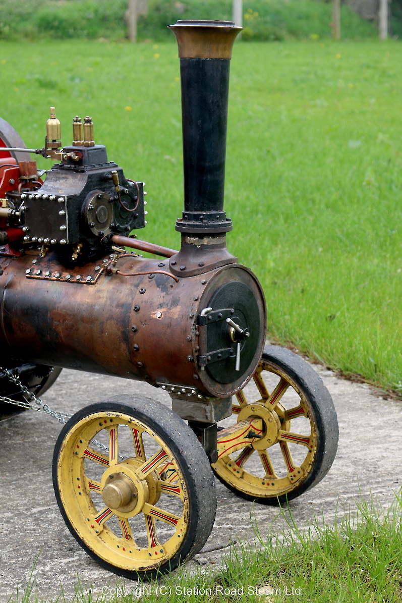 3 inch scale freelance double crank traction engine