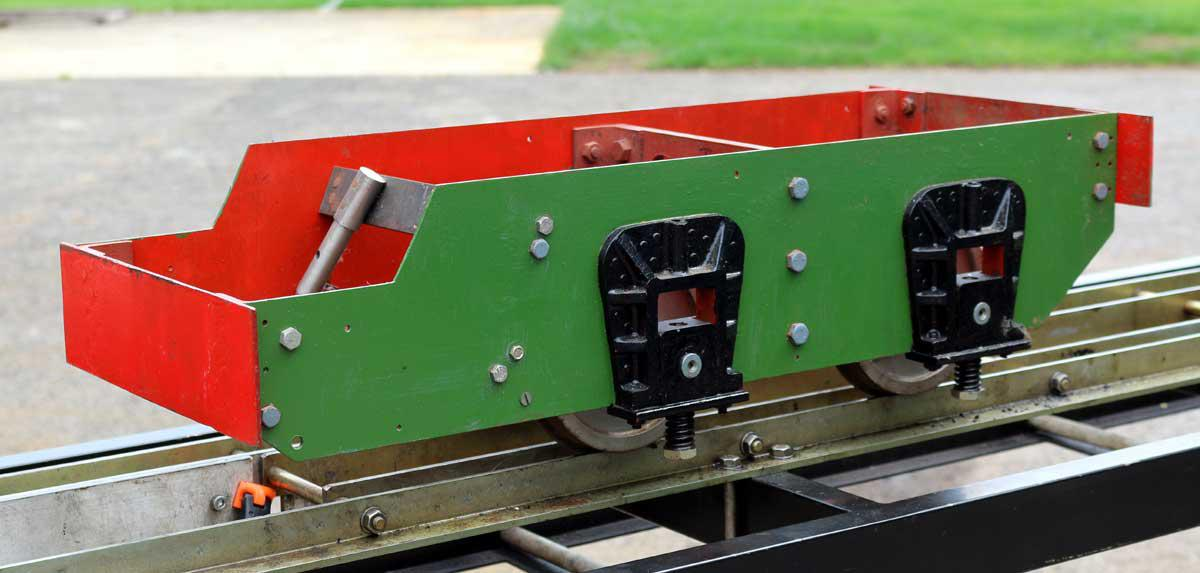5 inch gauge driving truck chassis