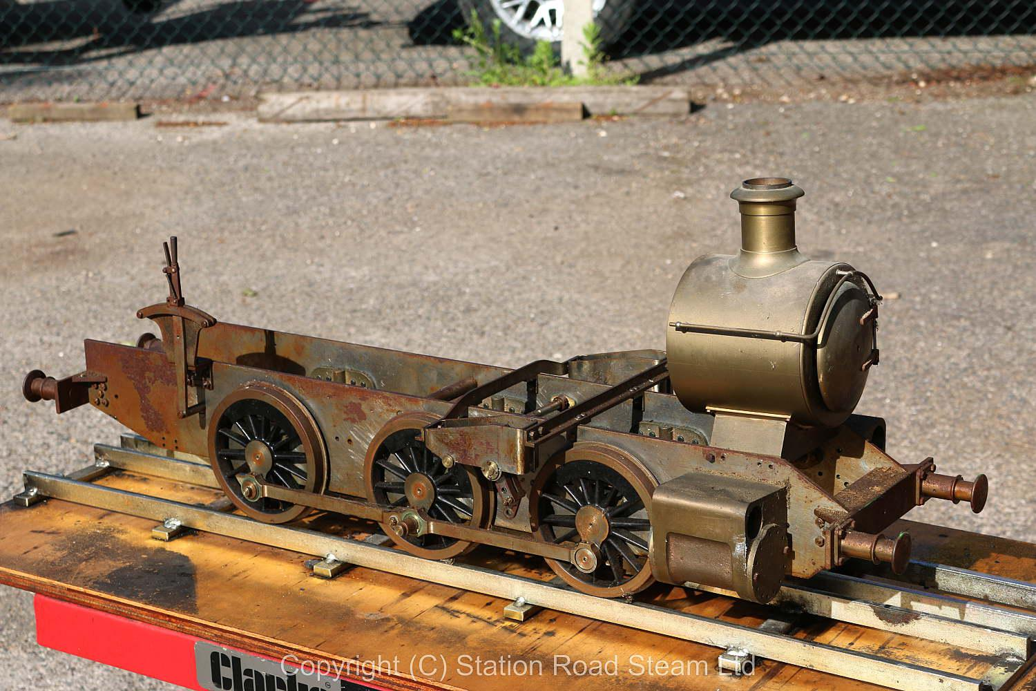 5 inch gauge GWR 15xx 0-6-0PT chassis