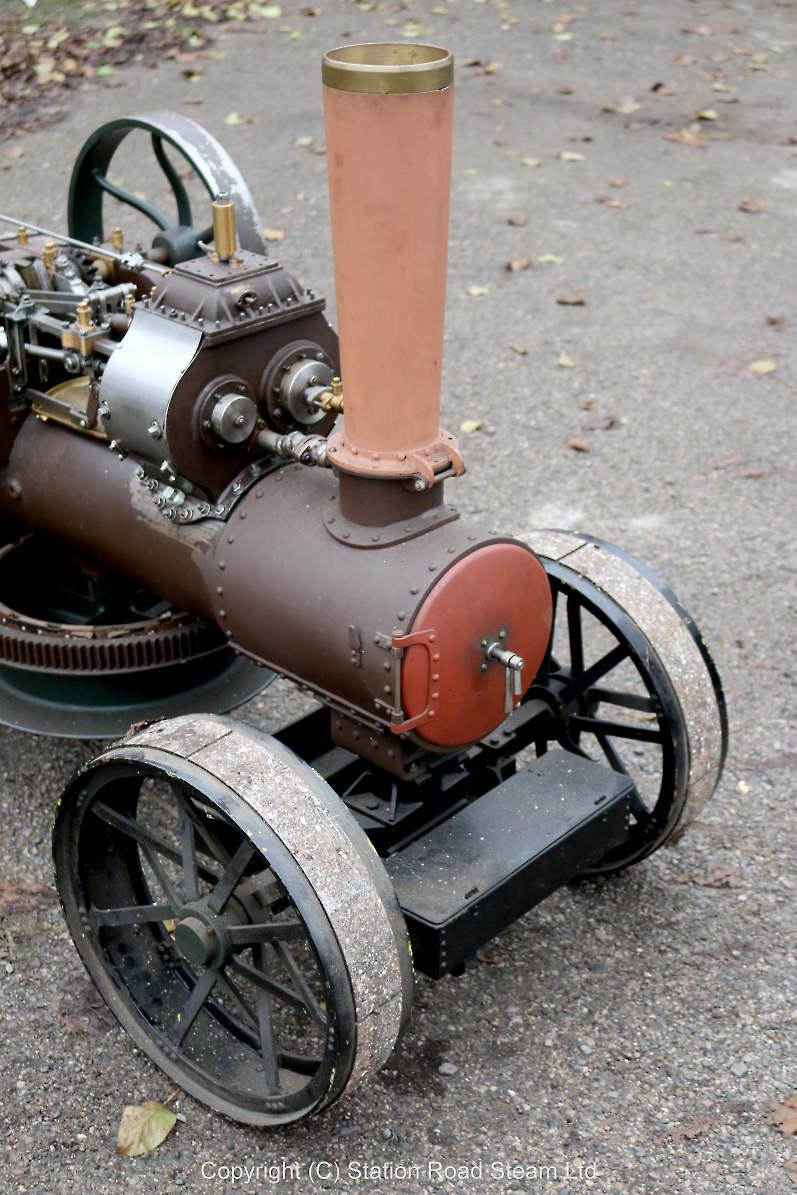 3 inch scale Fowler BB1 ploughing engine