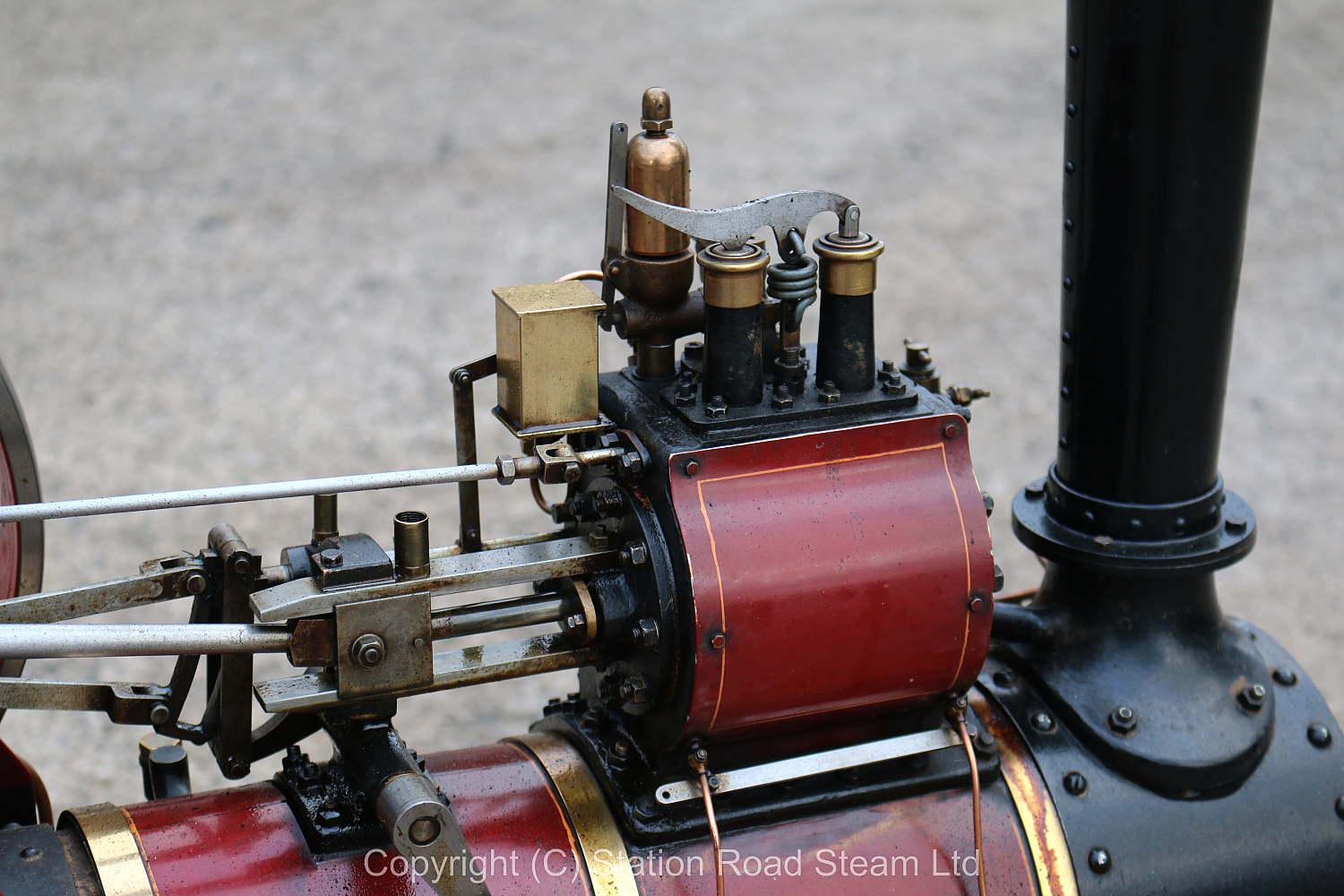 3 inch scale Burrell 6nhp agricultural engine