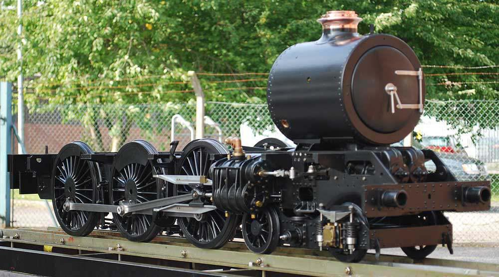7 1/4 inch gauge GWR King for completion