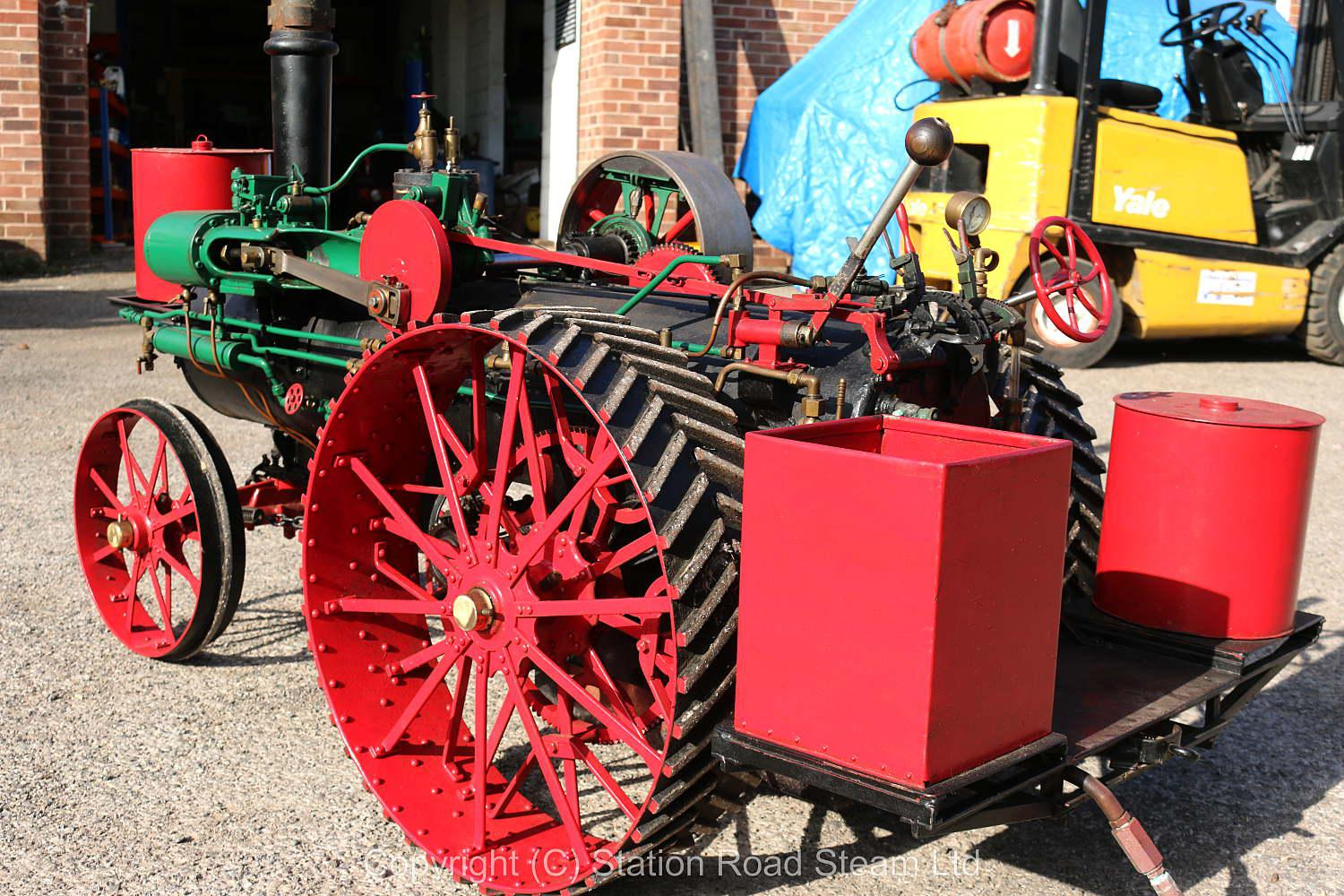 3 inch scale Minneapolis traction engine