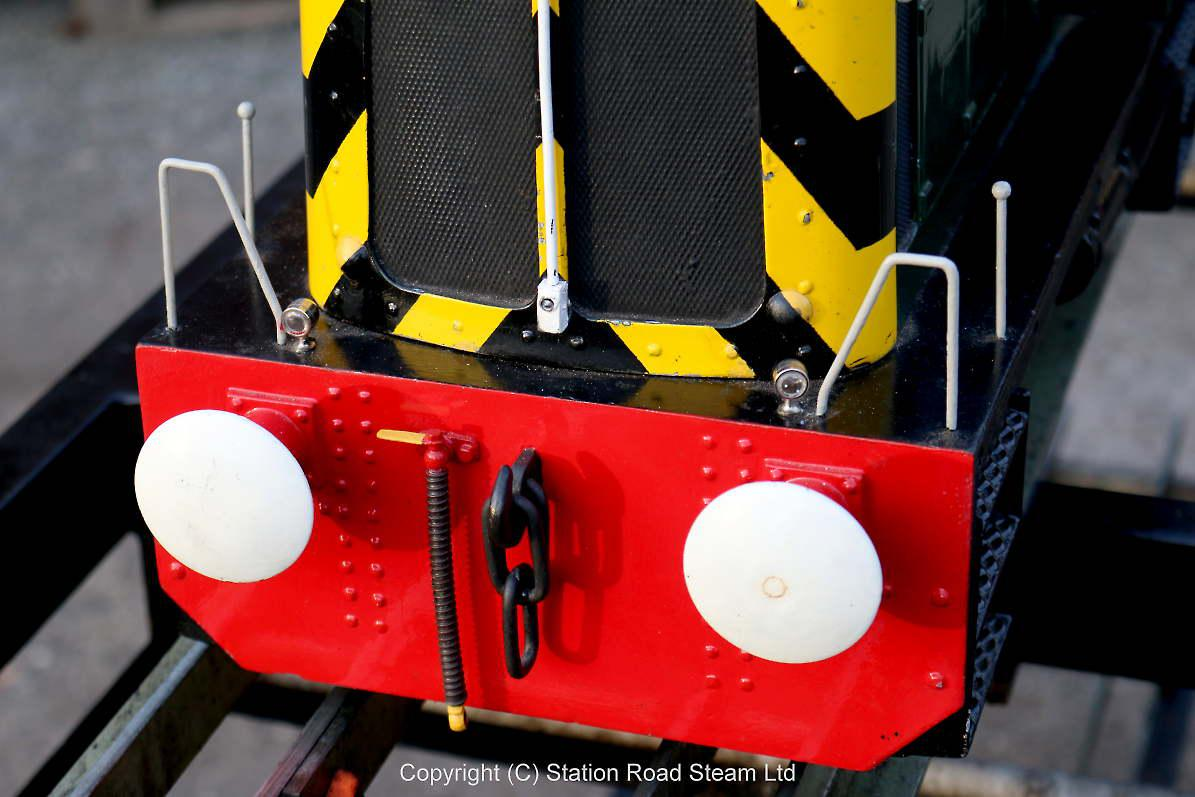 5 inch gauge North British 0-4-0 battery-electric shunter