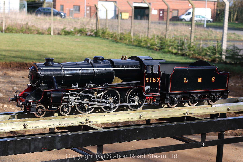 3 1/2 inch gauge LMS Black 5 - Stock code 6483
