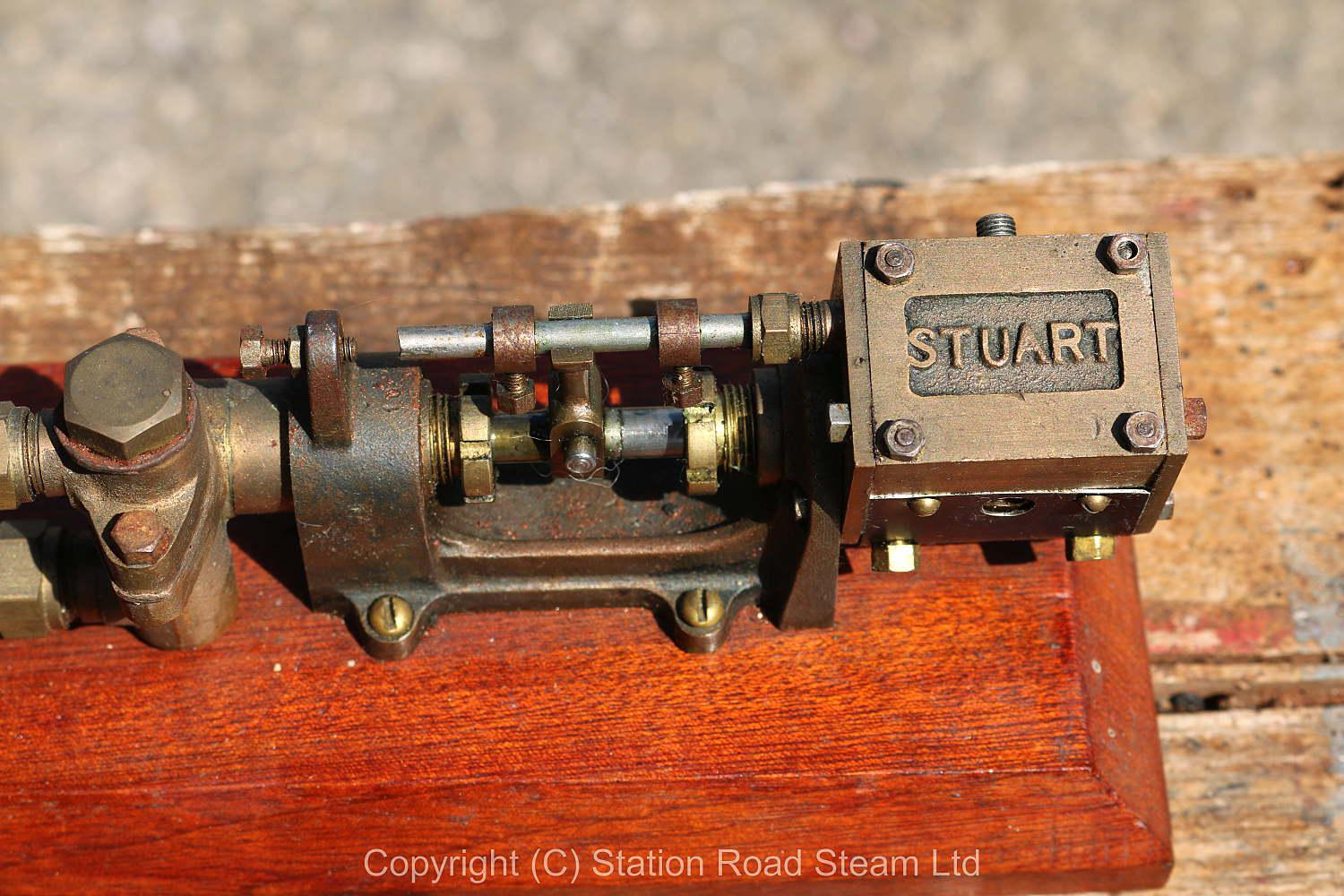 Stuart steam pump with water tank