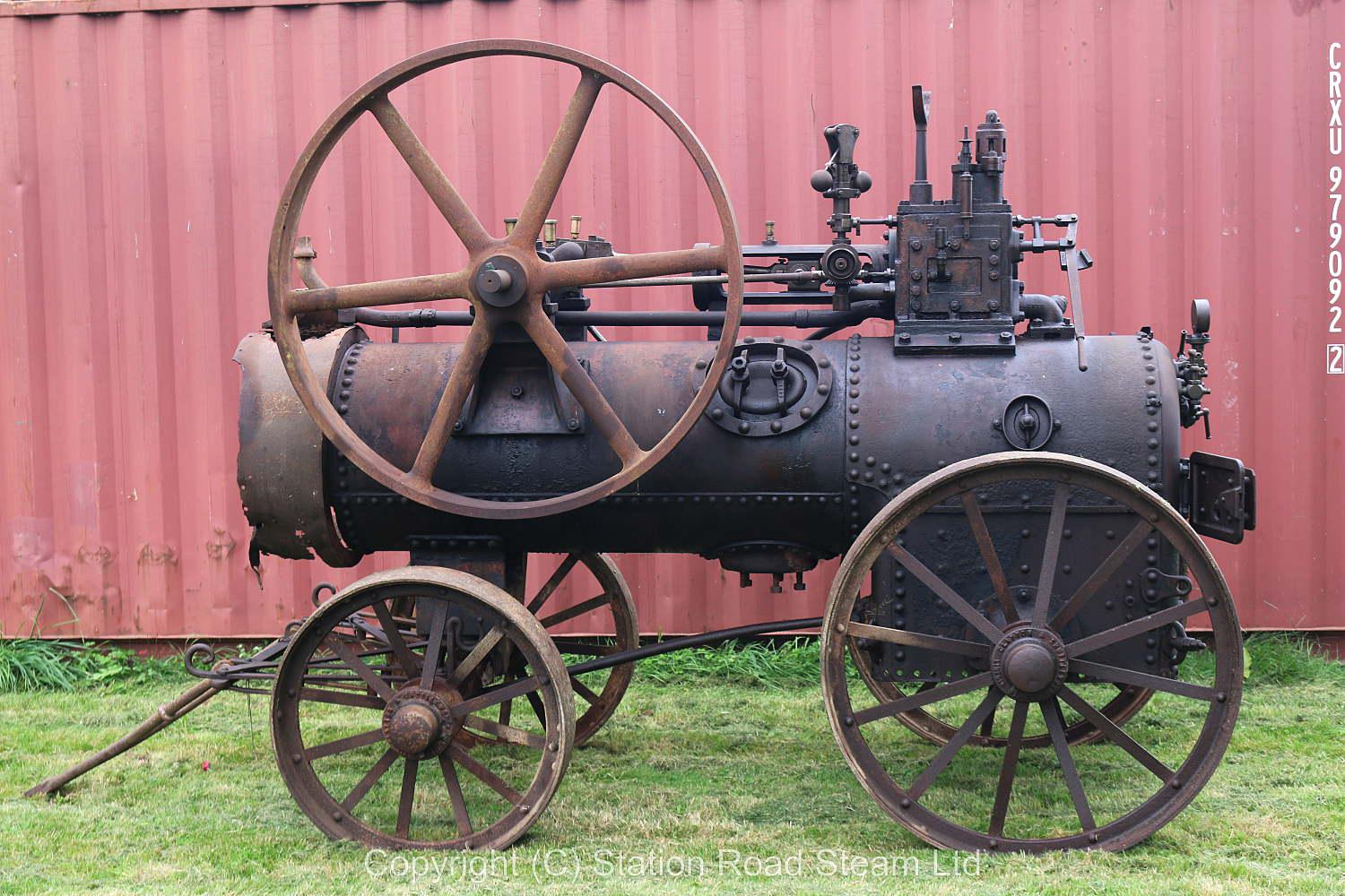 Clayton & Shuttleworth 4nhp portable engine