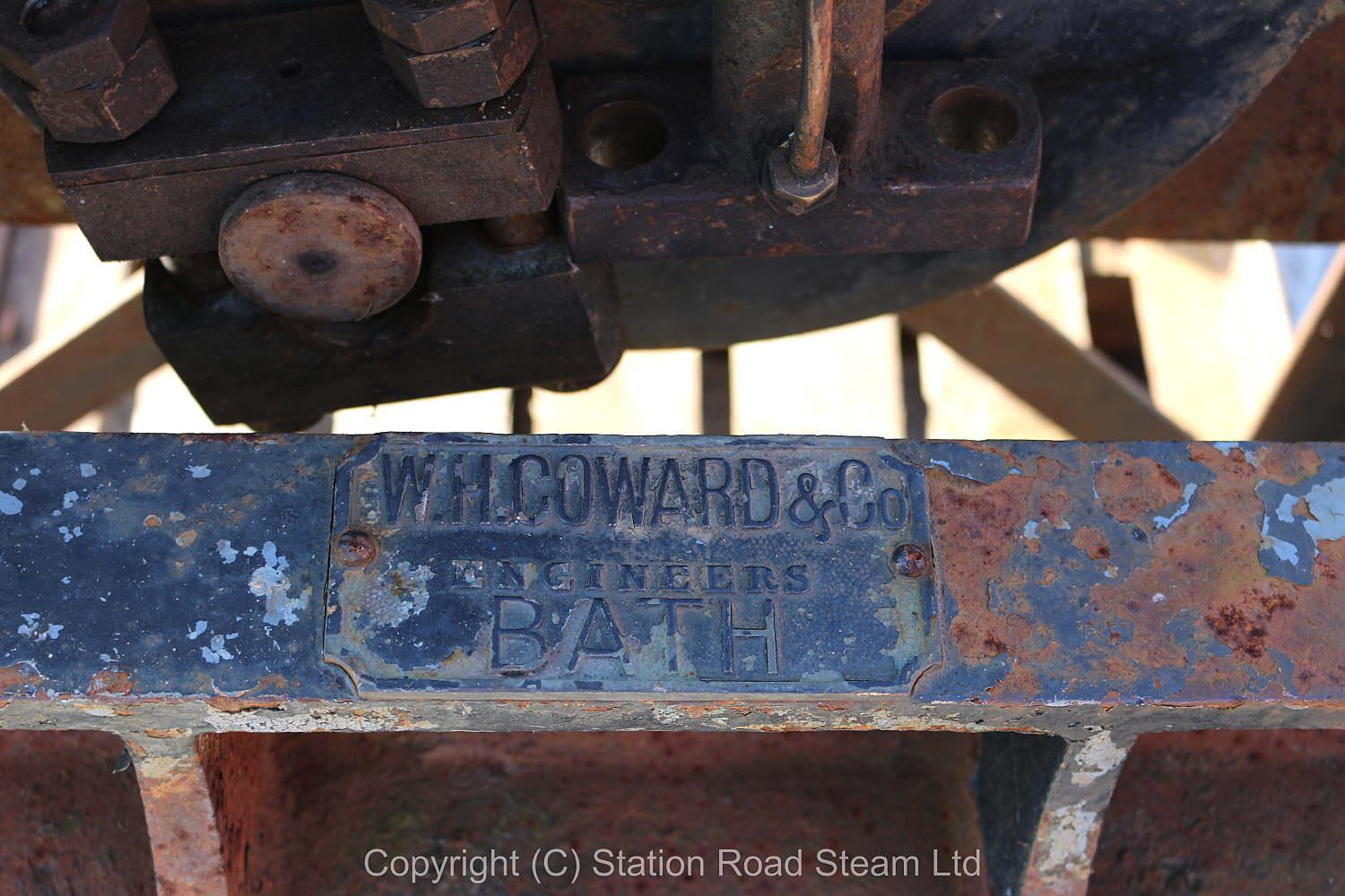 W.H.Coward & Co vertical engine