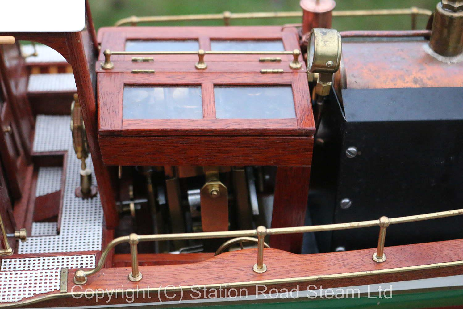 1:12th scale Windermere steam launch