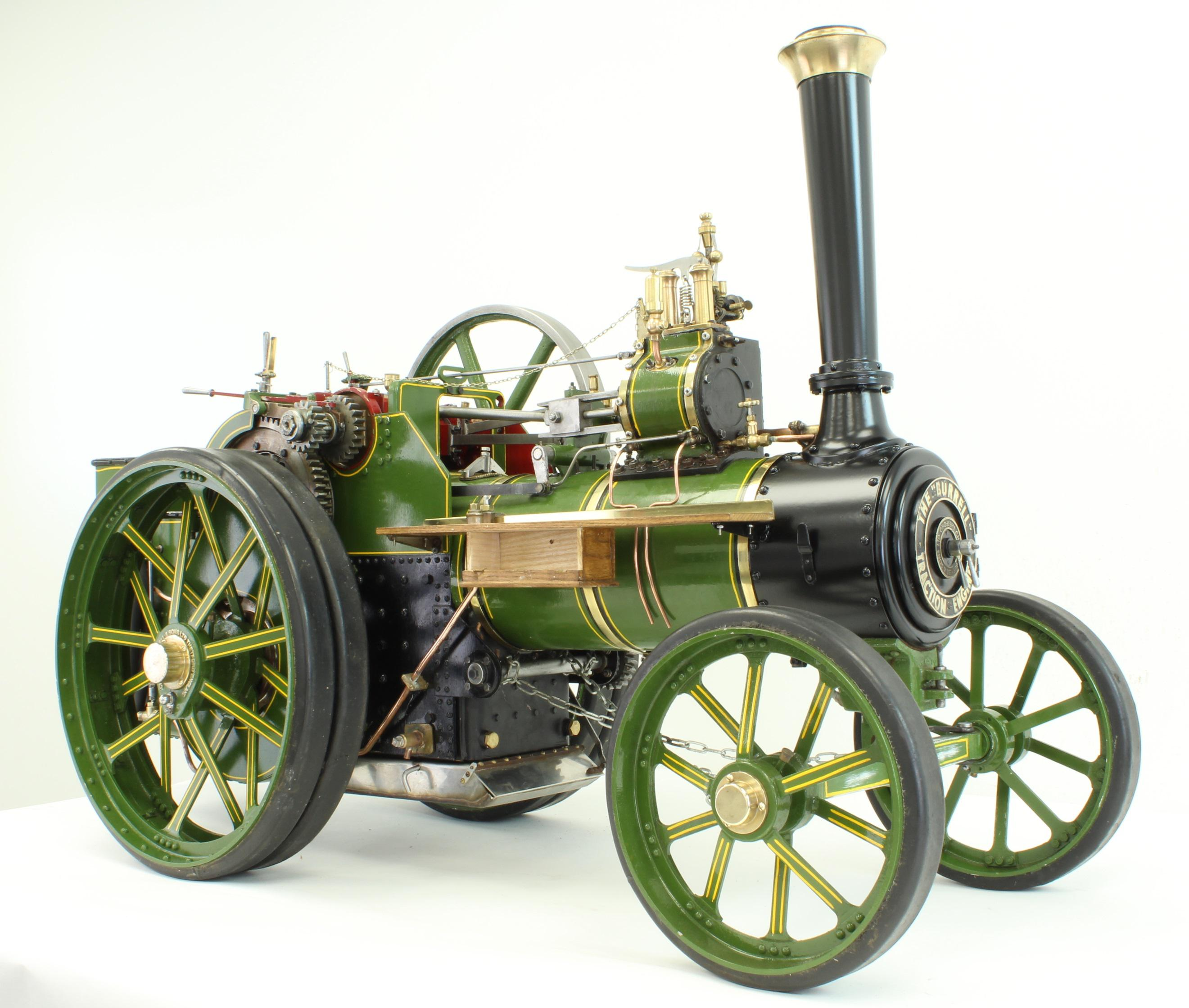 2 inch scale Burrell agricultural engine