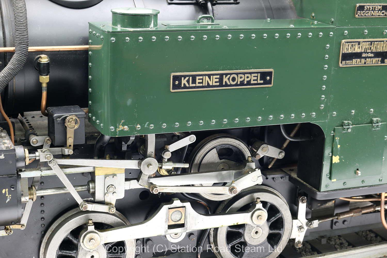 5 inch gauge Orenstein & Koppel 0-4-0 rack locomotive
