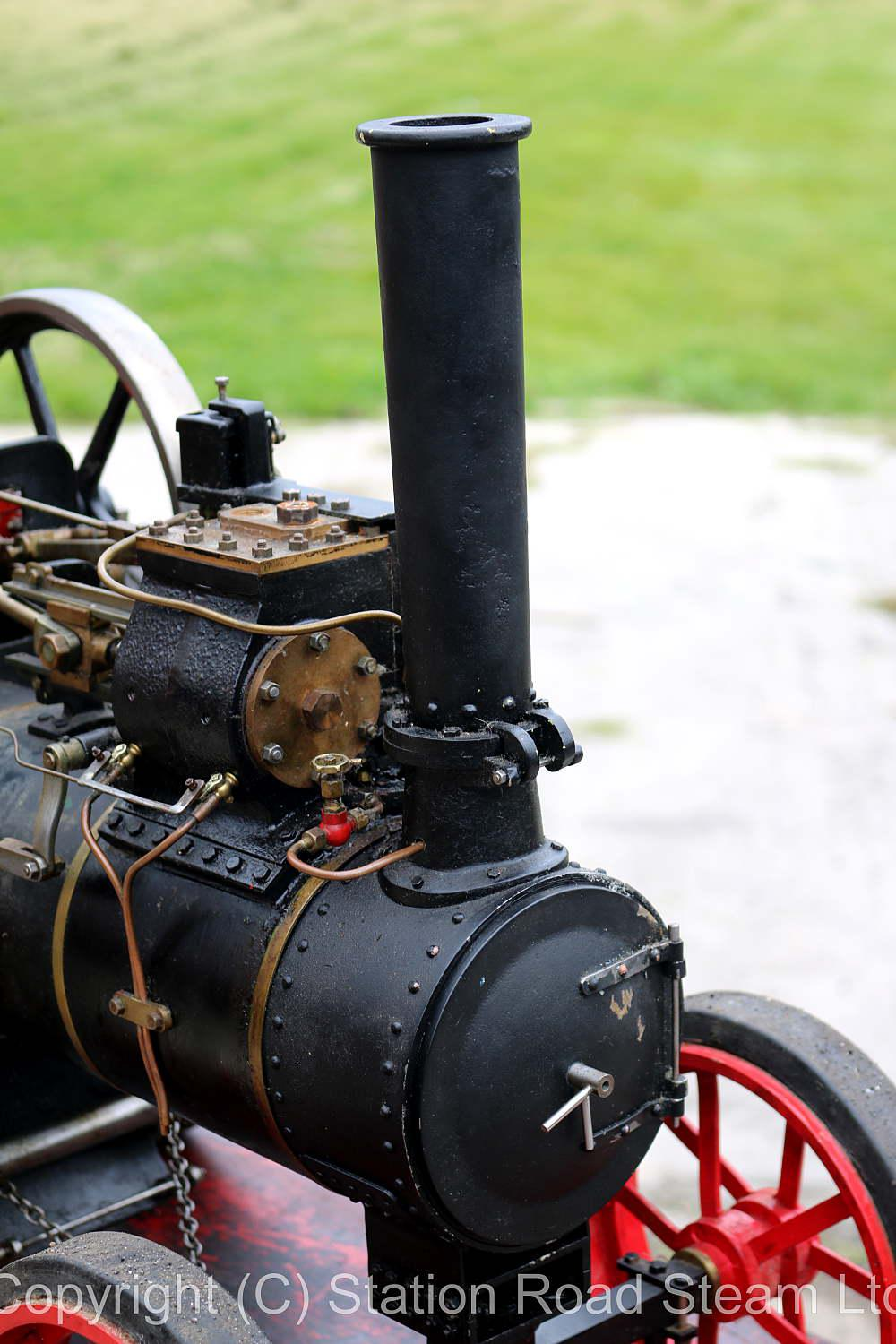 2 inch scale Durham & North Yorkshire traction engine