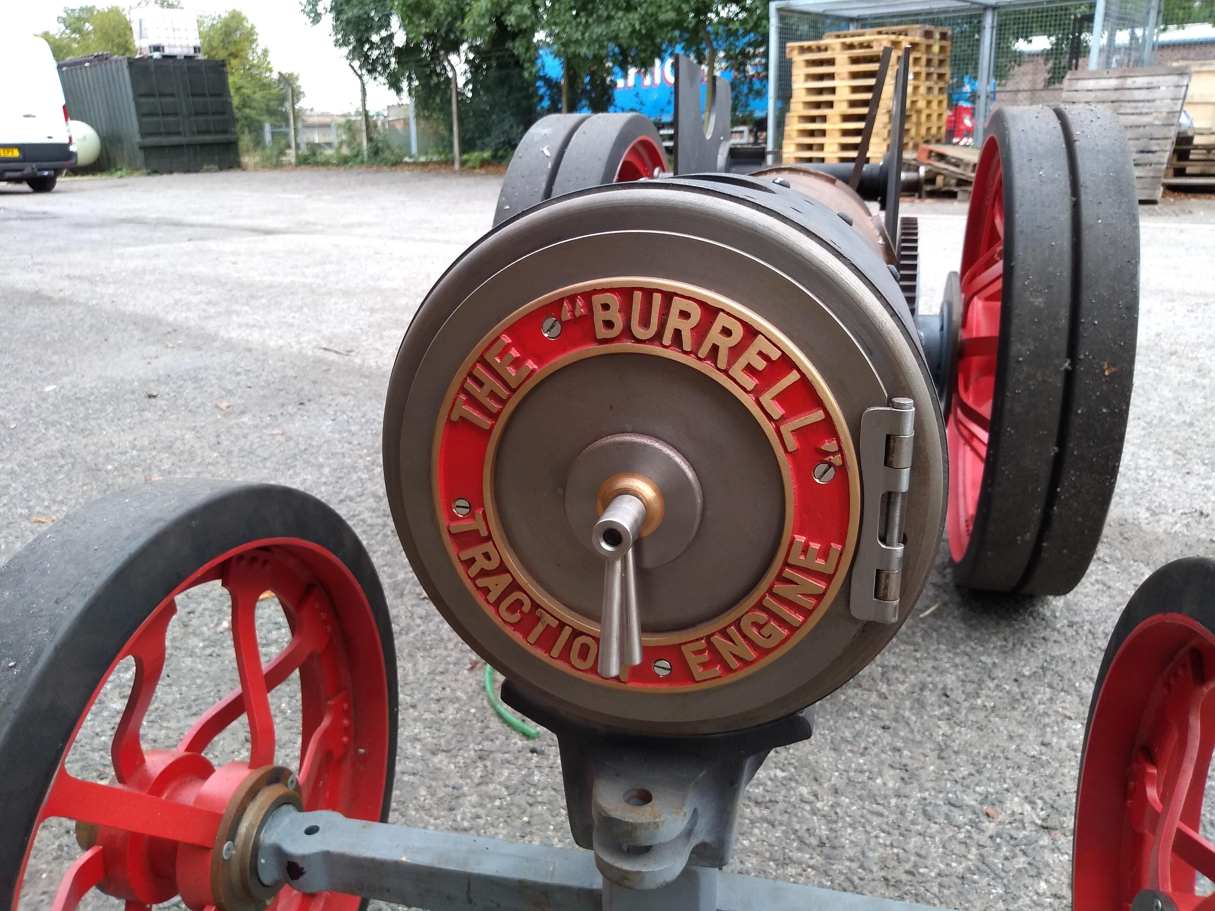 Part-built 4 inch scale Burrell agricultural engine