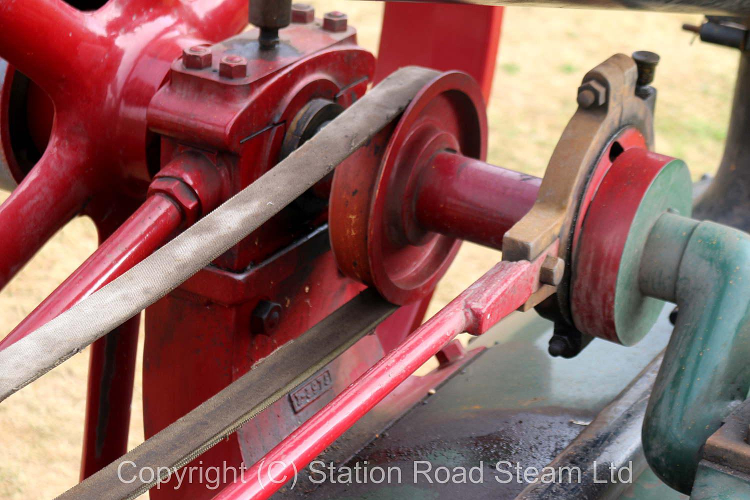 Clayton & Shuttleworth 12nhp portable engine