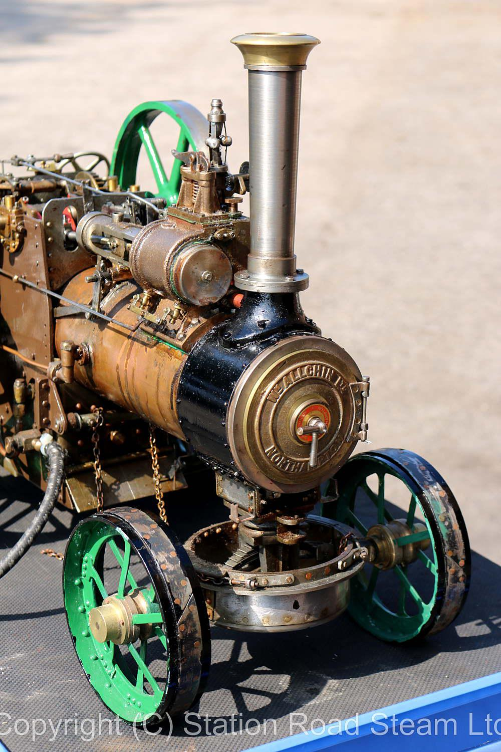 1 1/2 inch scale Allchin traction engine