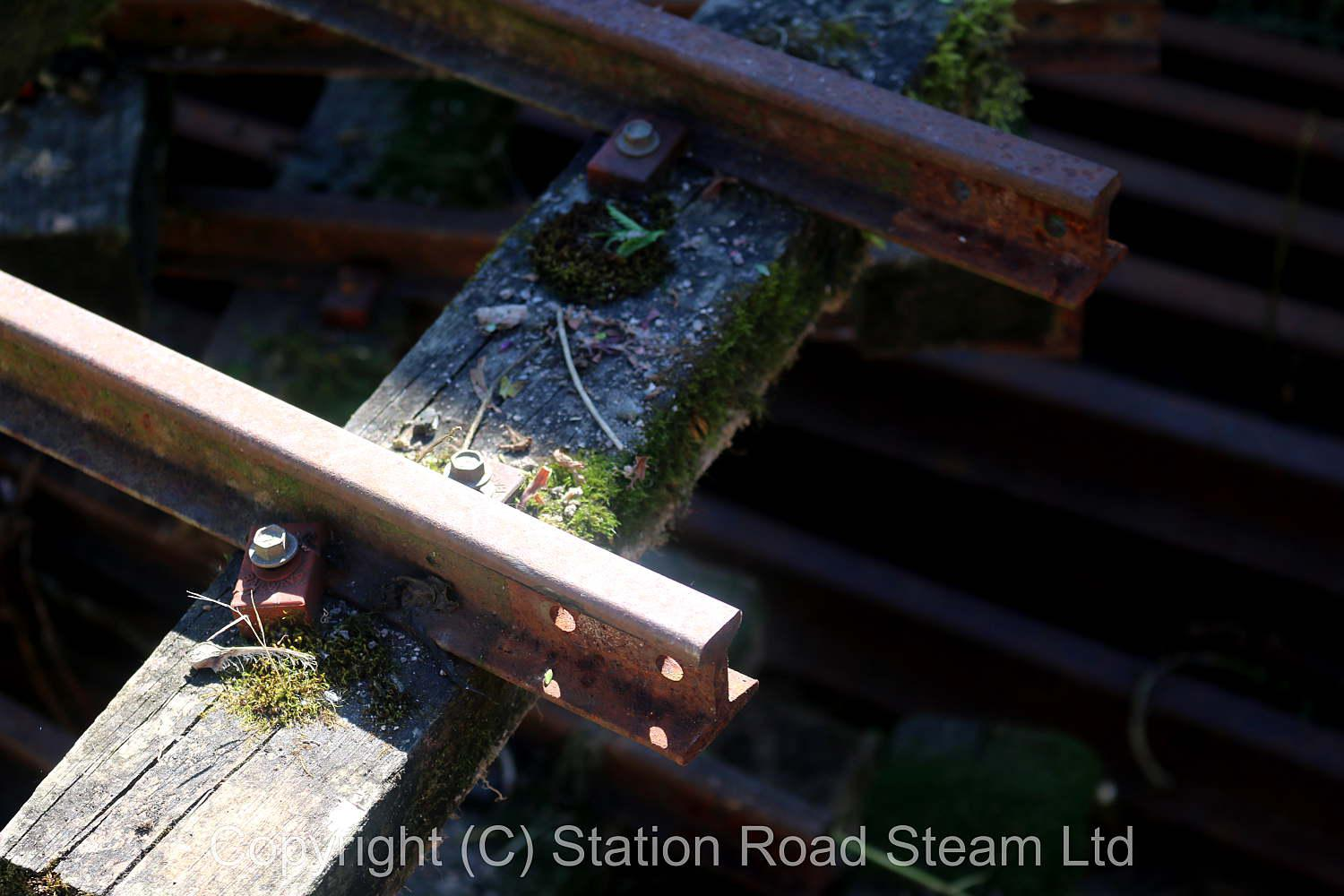 7 1/4 inch gauge dismantled garden railway