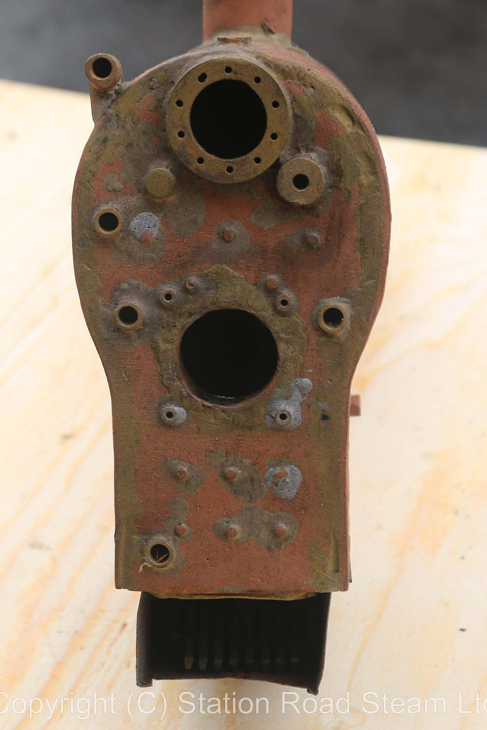 Dismantled 5 inch gauge NY&HRR 4-4-0