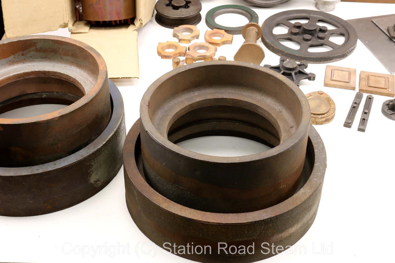 2 inch scale Burrell steam roller castings & boiler kit