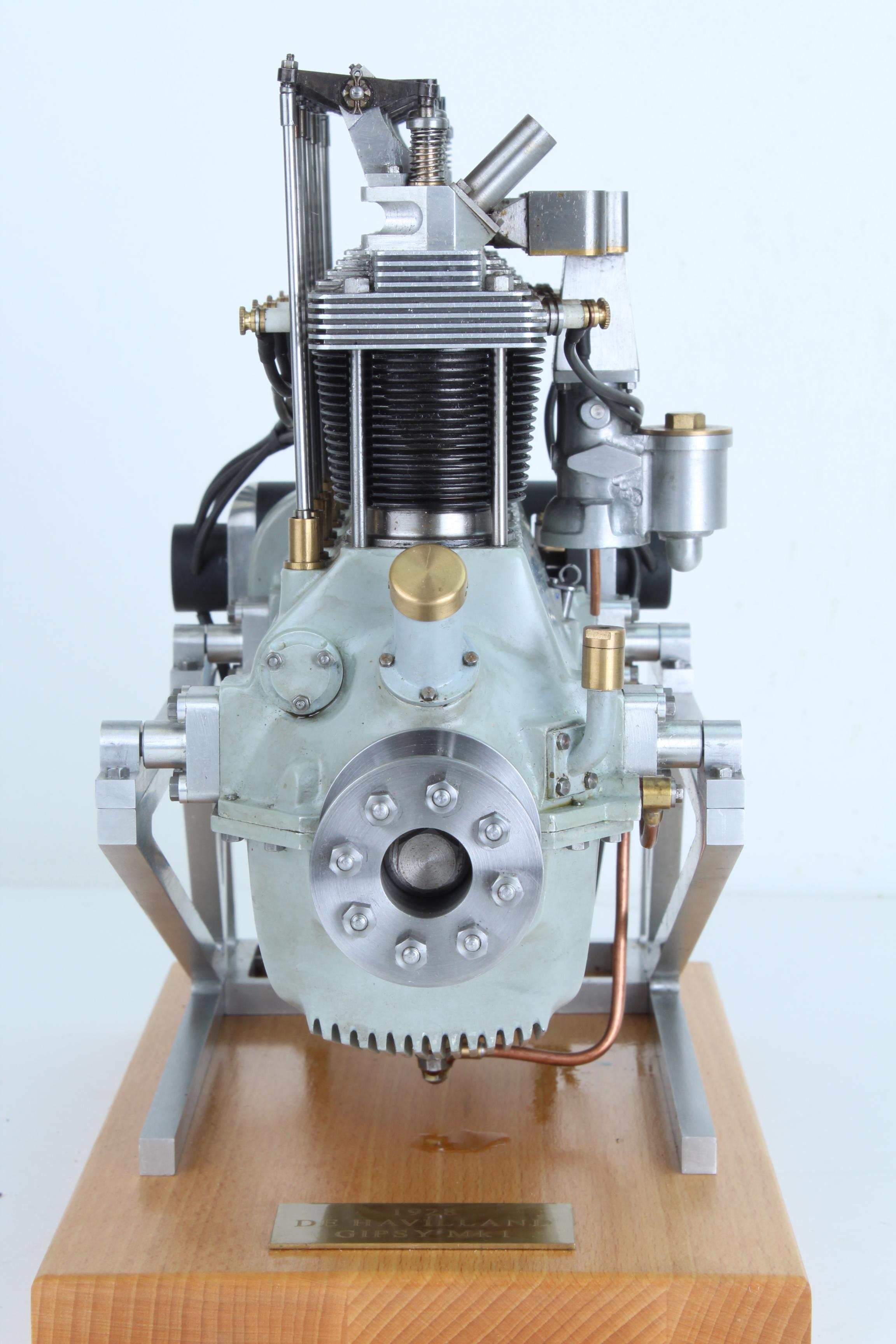 Quarter scale De Havilland Gysy Mk1 engine