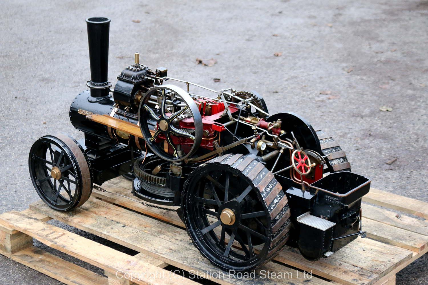 2 inch scale Fowler BB1 ploughing engine