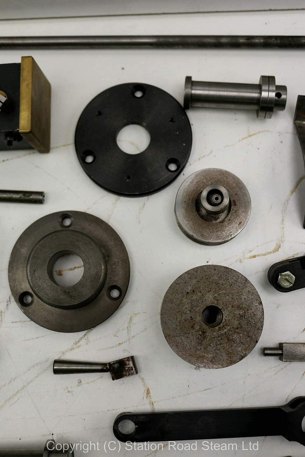 Wheels, boiler kit and professionally machined parts for 4 inch scale Foster