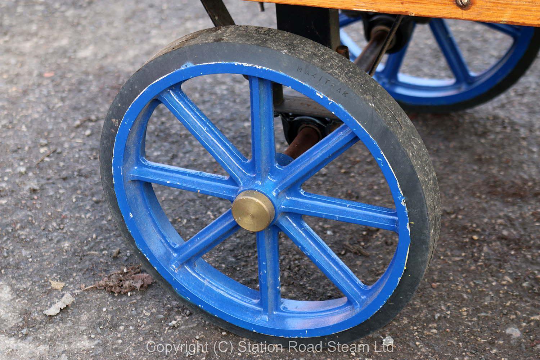 Four wheel traction engine wagon - Stock code 7320