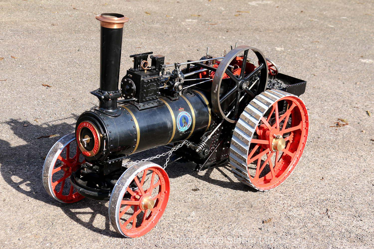 3 inch scale Foster agricultural engine