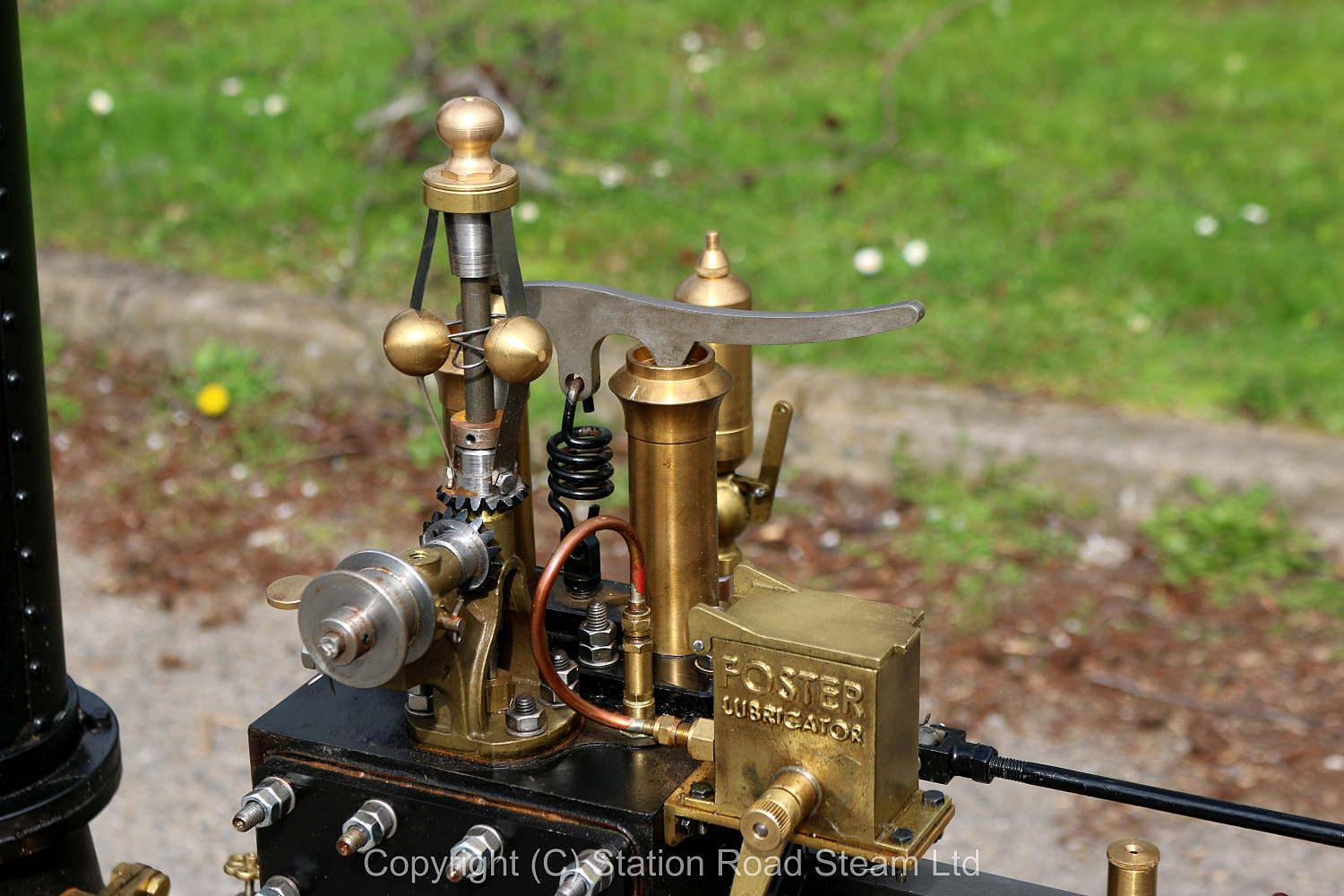 4 inch scale Burrell agricultural engine