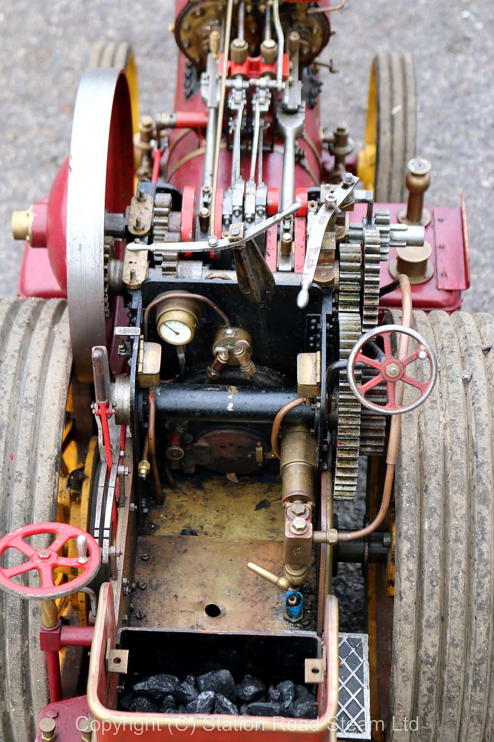 2 inch scale Fowler DCC Showmans engine