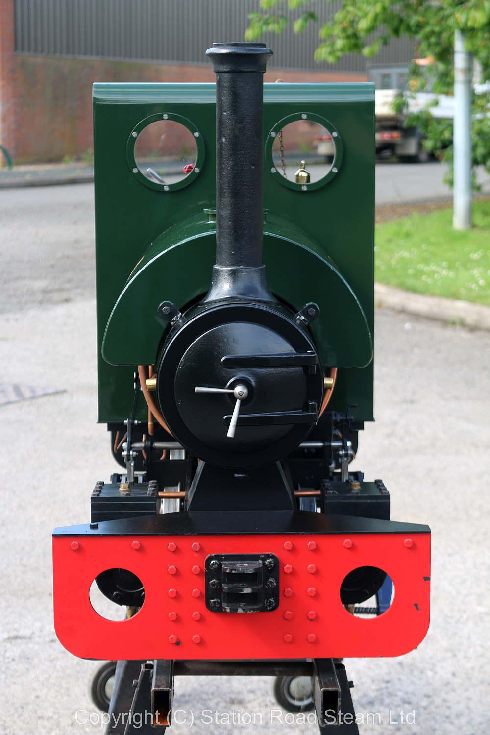 7 1/4 inch gauge Stafford 0-4-0ST, works number 1341